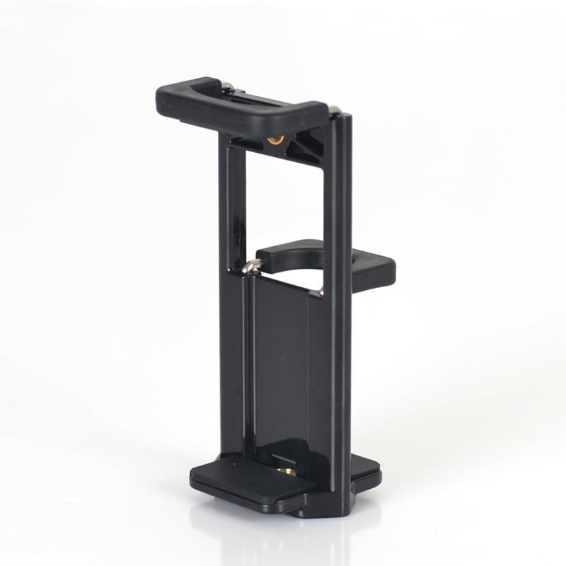 Mobile phone tablet iPad dual-purpose clip 1 / 4 interface can be connected to mobile phone tripod triangle bracket accessories