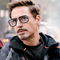 Iron Man Robert Downey with sunglasses male tide can be equipped with short-sighted sunglasses Spider-Man Edith