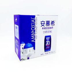 10月产伊利牛奶安慕希风味酸奶原味205g礼盒