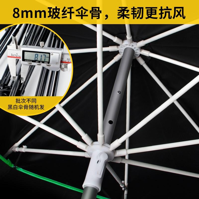 券后106.65元渔之源2.6米2.4大防雨折叠遮阳伞