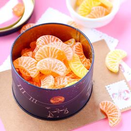 法国费罗伦天秤座桔子柠檬糖果十二星座酸甜礼盒装水果新年送礼