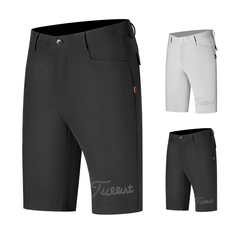 短裤男士球裤弹动裤子golf服装男裤力透气 速干golf休闲
