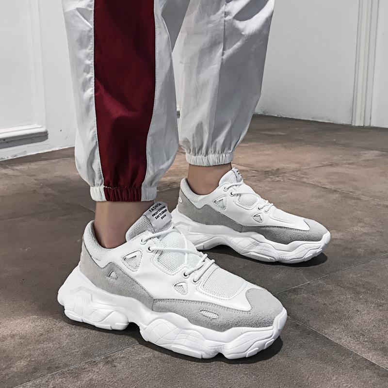 新款老爹鞋厚底跑步轻便减震运动鞋