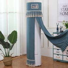 空调罩套柜机圆形圆柱格力奥克斯海尔海信美的立式防尘罩开机不取