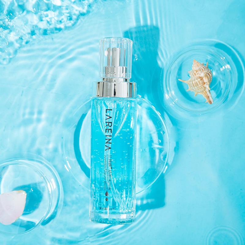 Lanruina glacier water toner shrinking pores, moisturizing and fixing makeup sensitive muscles, refreshing, moisturizing, moisturizing and oil controlling light and thin