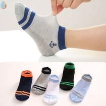 16岁5双装儿童网眼夏款男女童宝宝袜子中筒短袜童袜学生袜0