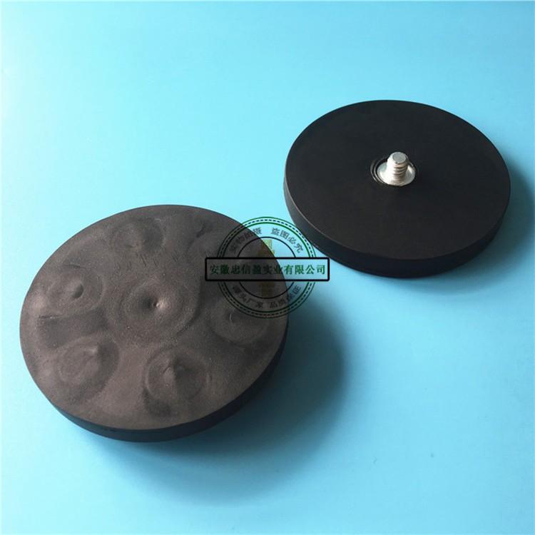 汽车车顶包胶磁铁数码相机/单反专用英制1/4螺丝强磁包胶吸盘底座