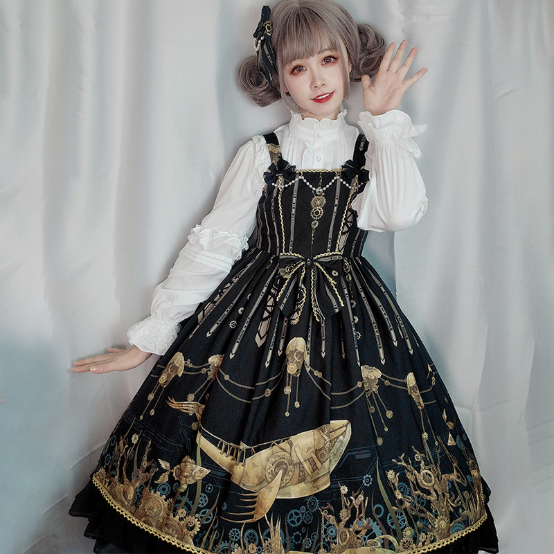 [Stock] original Lolita Dress of mechanical sea area
