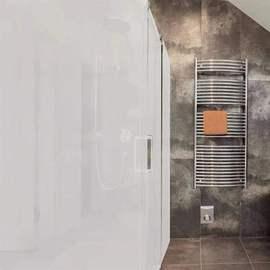 电雾化玻璃膜家庭通电隔断窗帘变色浴室门会议室创意汽车推拉门图片