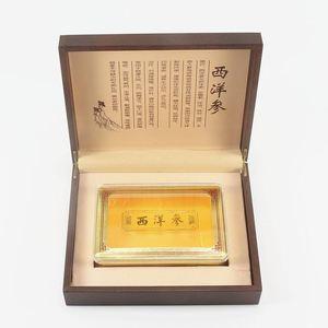 新款500克压纹09仿皮西洋参包装盒花旗参礼品盒250克厂家直销æ–