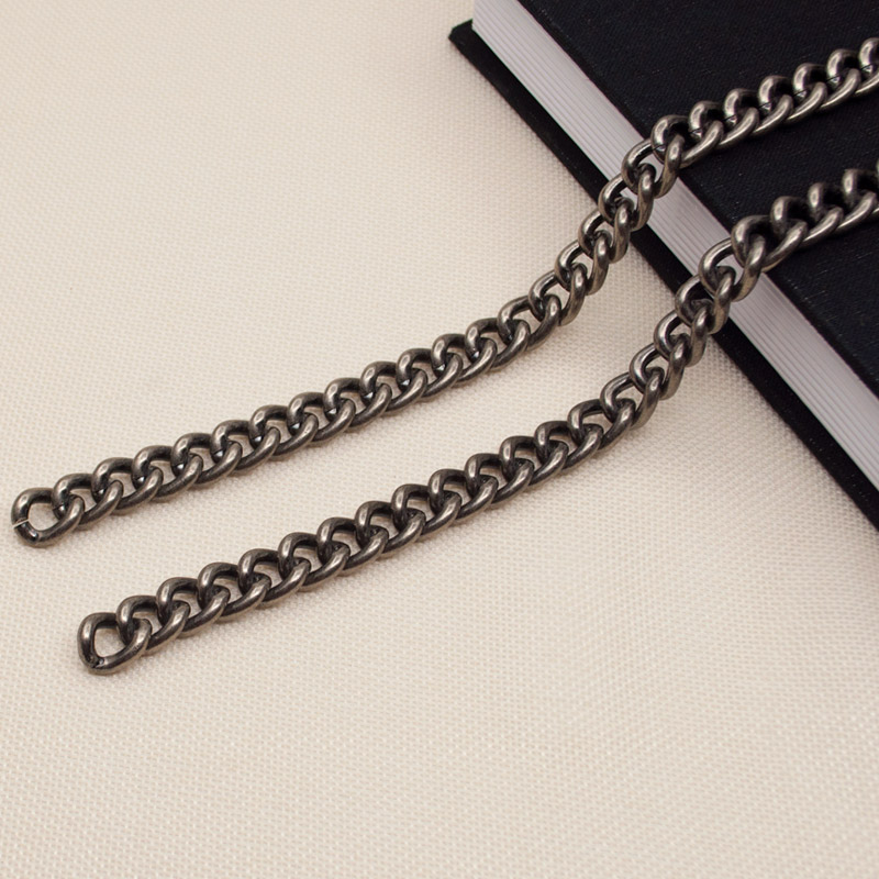 Chain, single shoulder, slant span, chain, high grade, no package, chain accessories, detachable package, fade, all kinds of thick and wide buckle free chain belt
