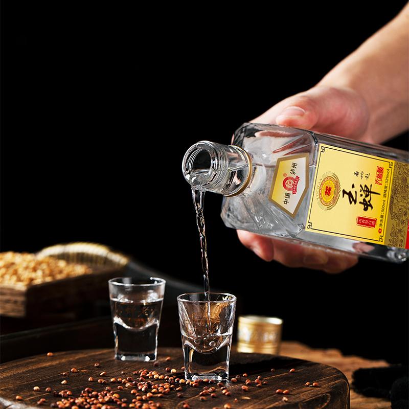 【品牌试饮】玉蝉老酒·玉蝉大曲光瓶52度1瓶装浓香型固态发酵