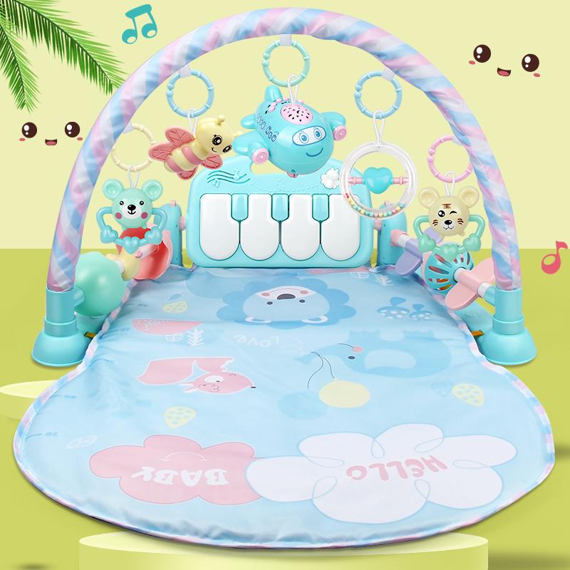 脚踏钢琴新生器0-1岁18宝宝健身架