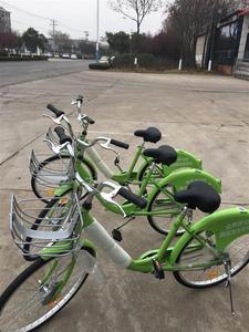 款 实心胎自行车适 骑单车整车 共享单同应山地不可变速车型