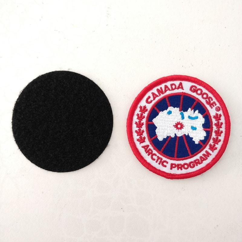 Canada goose Logo Cloth pastes clothes pastes the tide brand down jacket hole patch pastes does not have the mark fashion charge clothing