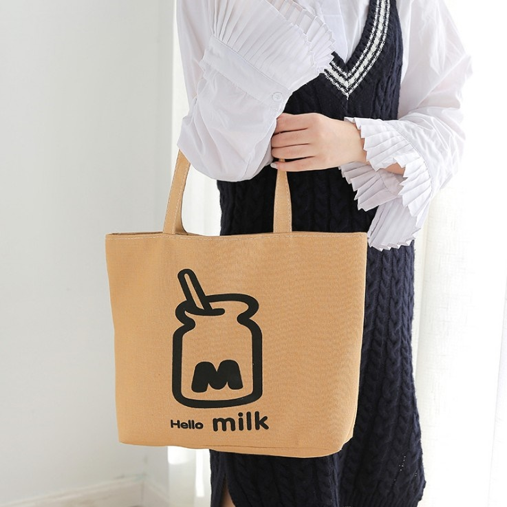 Sen Department single shoulder canvas bag, all kinds of womens literature and art simple cloth bag, handbag, shopping bag, literature and art student bag