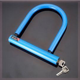 。.通用防剪电动车摩托车锁子防盗锁大小电瓶车U形锁自行车锁U型图片