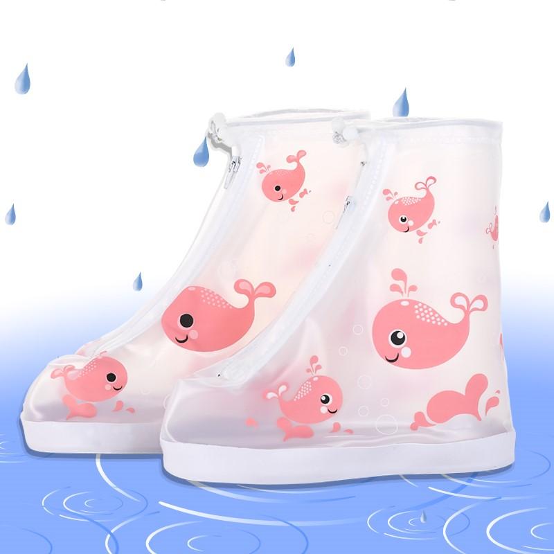 儿童雨鞋套防水雨天加厚耐磨防滑男女童学生小孩t防雨防沙宝宝鞋
