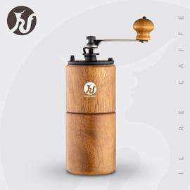 皇啡IL RECAFFE 手摇磨豆机家用咖啡豆手动研磨机实木机身HF-YTM1