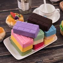 禧来亿黑白巧克力纯砖100g散装家庭diy烘焙原料包邮代可可脂