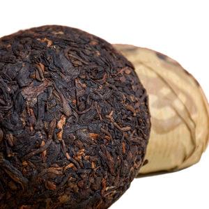 买4赠1开山派2017年传统工艺 云南勐海熟沱100克紧压普洱茶熟茶