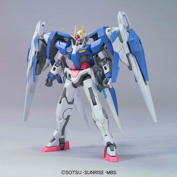 South Koreas non Wandai Hg model fate 00 creates freedom fighters assembled toy package and postal battle seven swords Unicorn mourning
