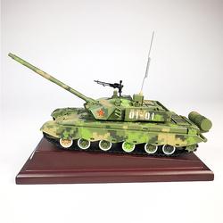 正品99式主战坦克模型仿真合金履带式金属军事装甲战车军模成品摆