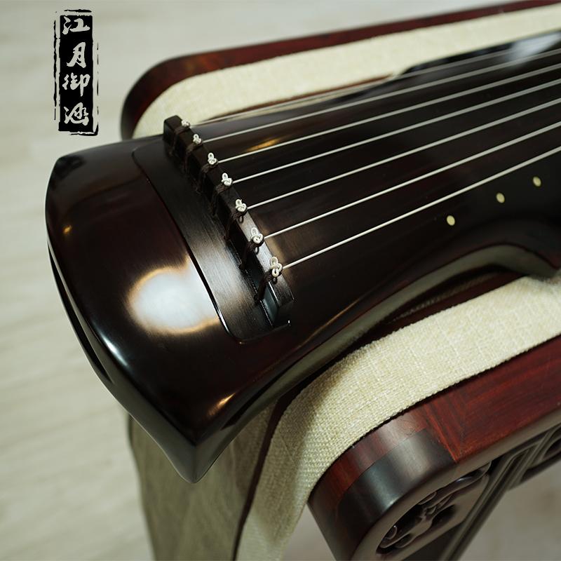 高档古琴老杉木忘机琴初学者伏羲式七弦琴天然生漆仲尼式演奏级包