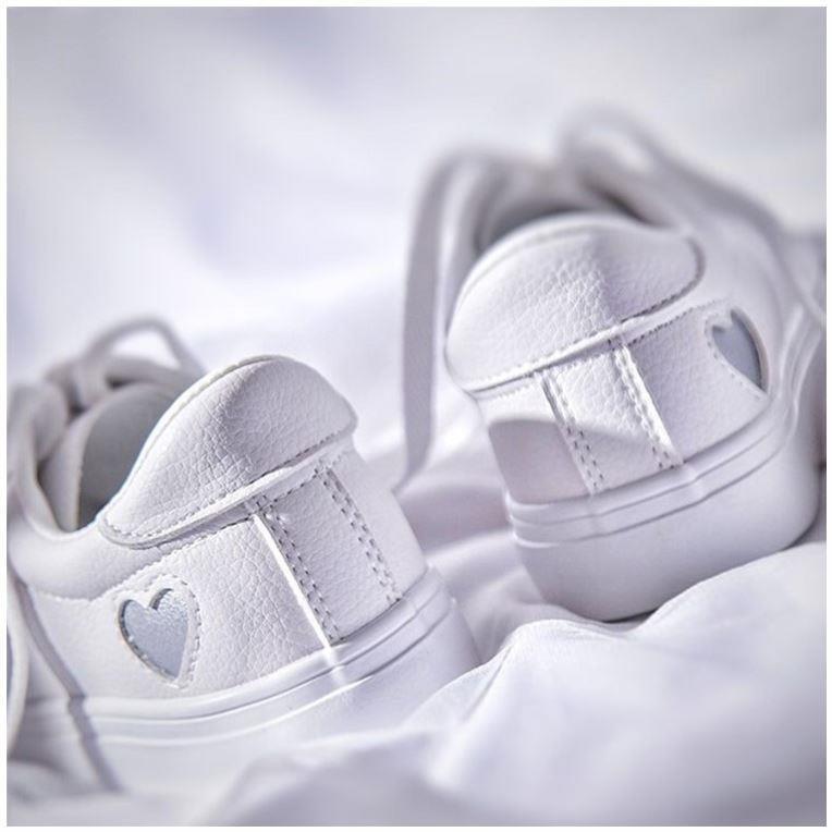 タオバオ仕入れ代行-ibuy99 运动鞋 小白鞋女春秋新款百搭韩版休闲鞋平底系带运动鞋学生板鞋透气白鞋