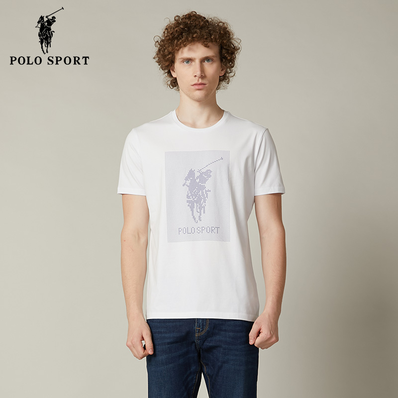 Polo sport短袖T恤男2020春夏休闲情人节男朋友打底衫潮A14552023