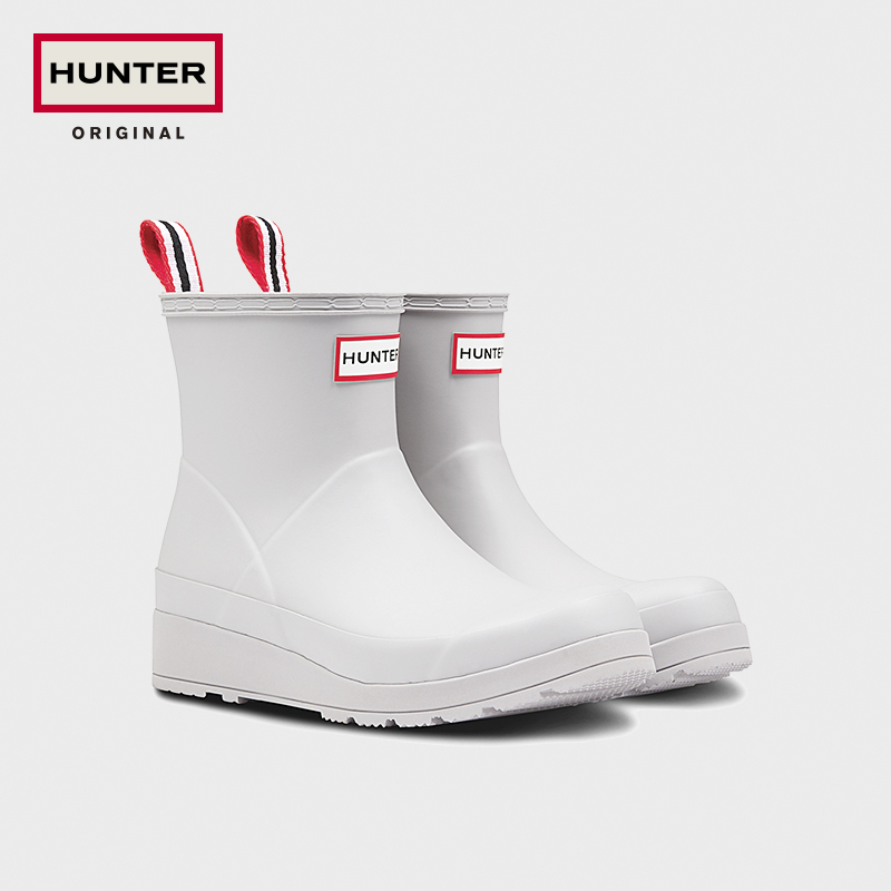 Hunter2020 autumn and winter new women's boots British cool play Chelsea short tube matte fashion short boots rain boots rain boots
