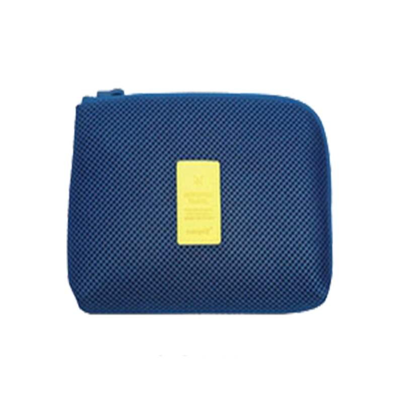 Lime new travel mobile phone digital electronic products storage bag charger data line storage box sorting bag