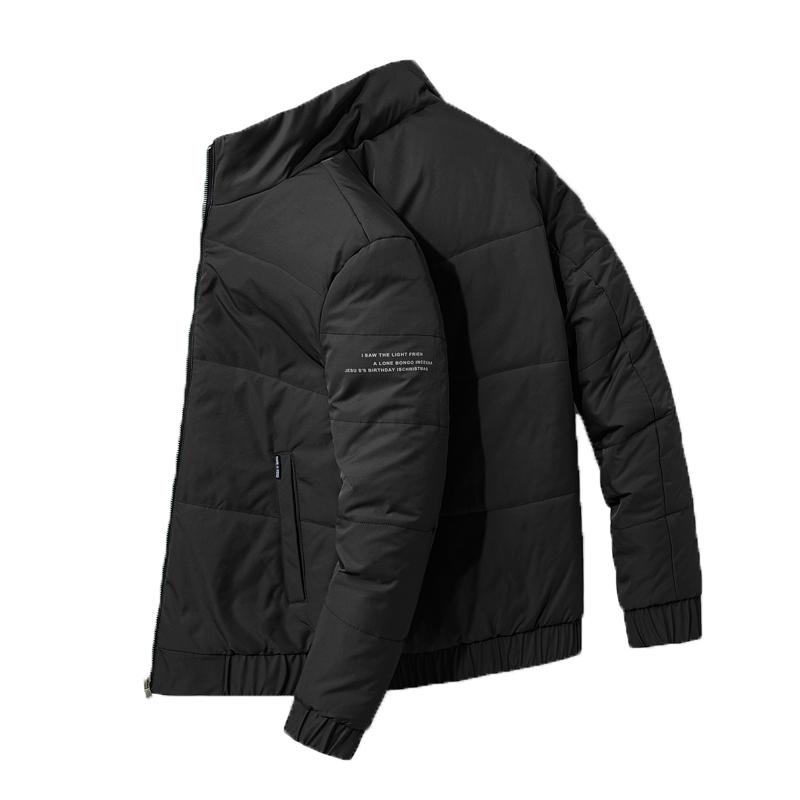 2020新款冬季大码男士棉衣休闲棉服男羽绒棉服棉袄面包服立领外套