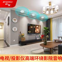 歌套装K客厅蓝牙音箱条形电视soundbar音响5.1万音回音壁家庭影院