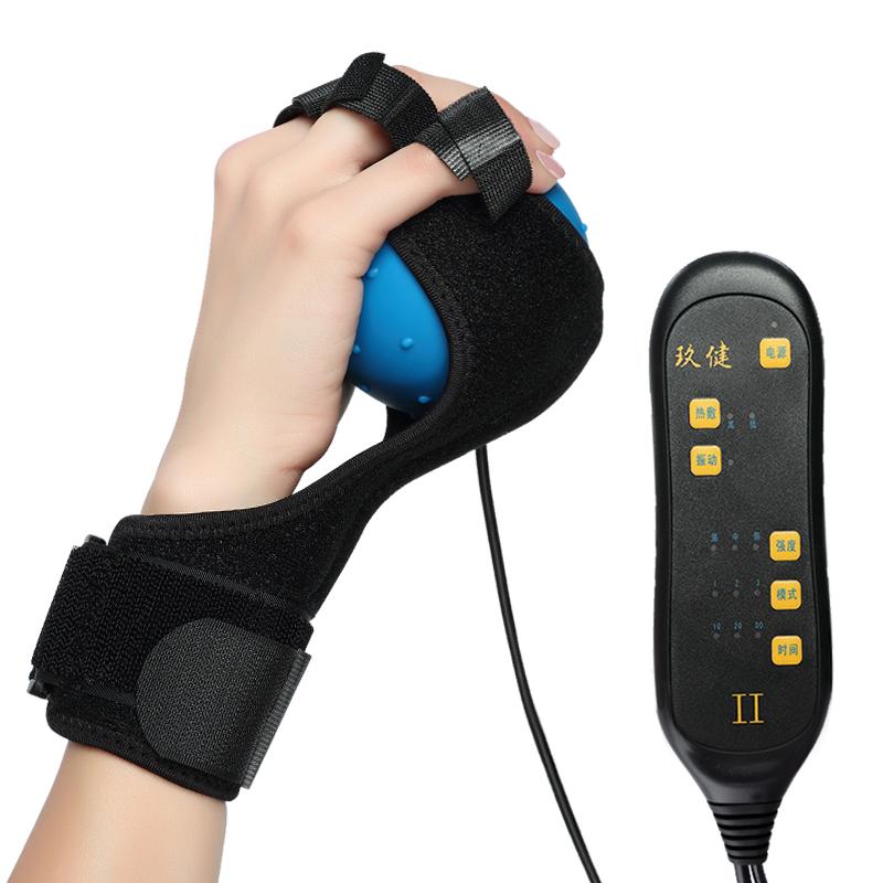中风偏瘫手指按摩器电动热敷球按摩震动理疗球手部康复器材训练器,可领取10元天猫优惠券
