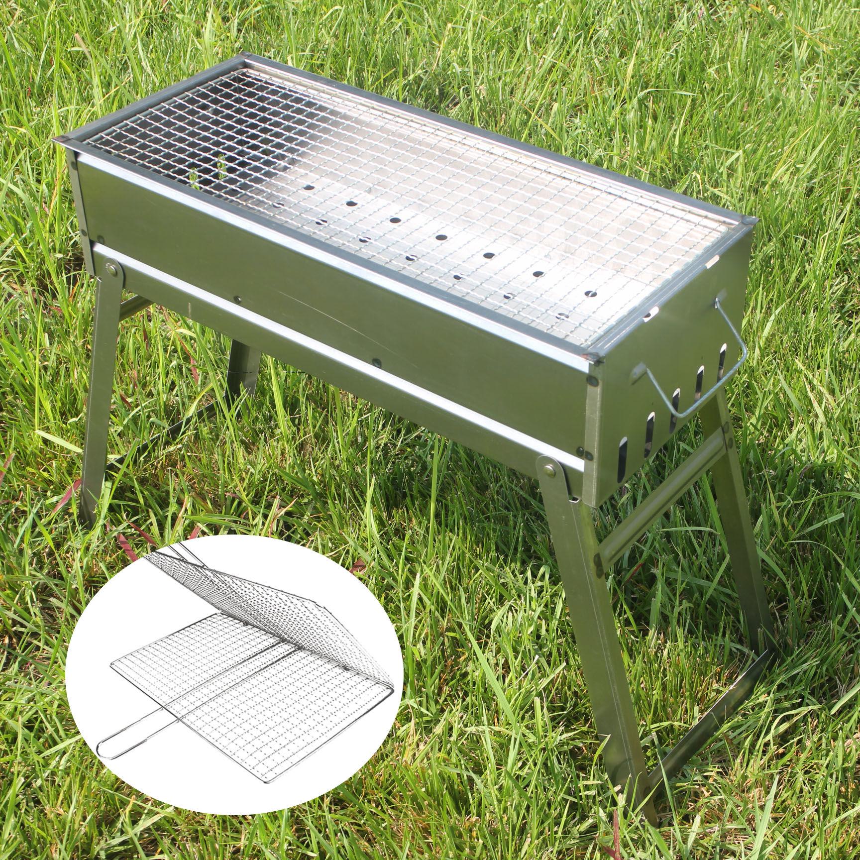 烧烤炉子户外家用木炭烧烤箱全套大号碳烤肉箱烤串签子野外烧烤架