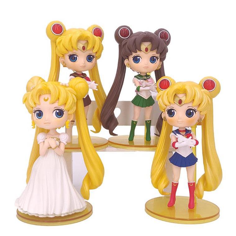Q version moon hare Sailor Moon Princess hand made gift model