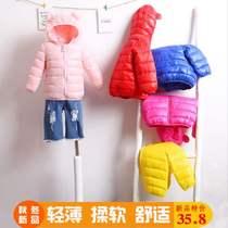 3岁女童棉衣2018新款内胆韩版洋气轻薄短款女孩男中发童外套冬装