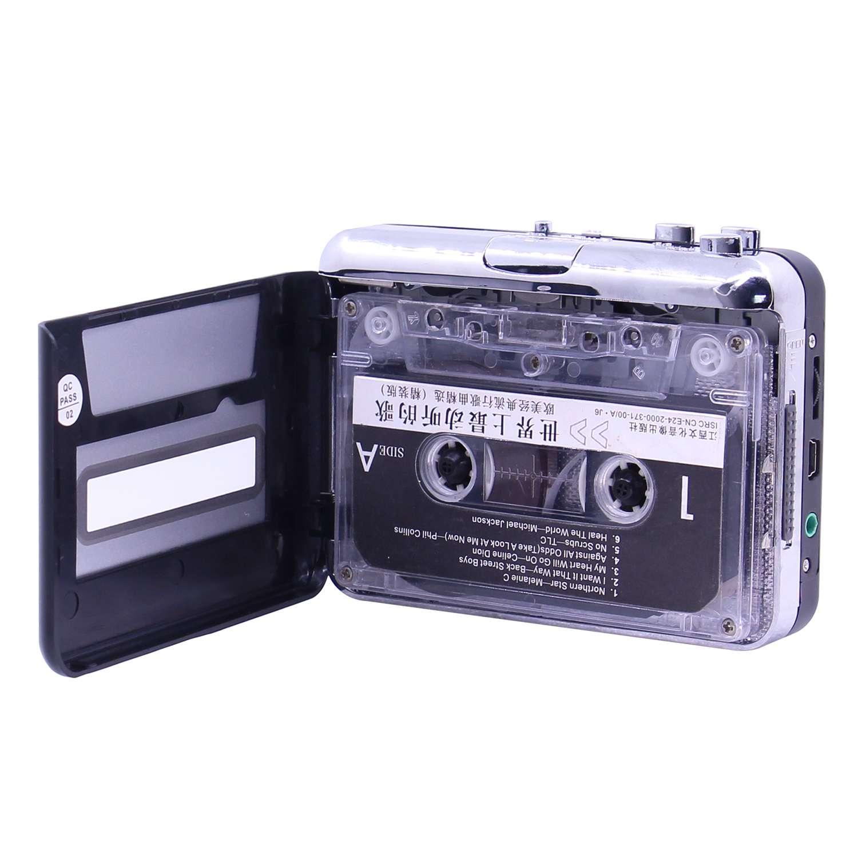 【现货即发】高保真磁带转MP3卡带机立体声随身听磁带机音频转换