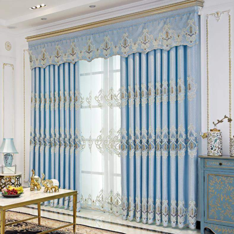 Mixed with versatile decoration, the main bedroom simple curtain Nordic style. Public shading family trend shading easy small window background