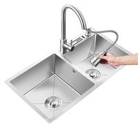 厨房304不锈钢家用手工加厚洗菜盆质量如何?