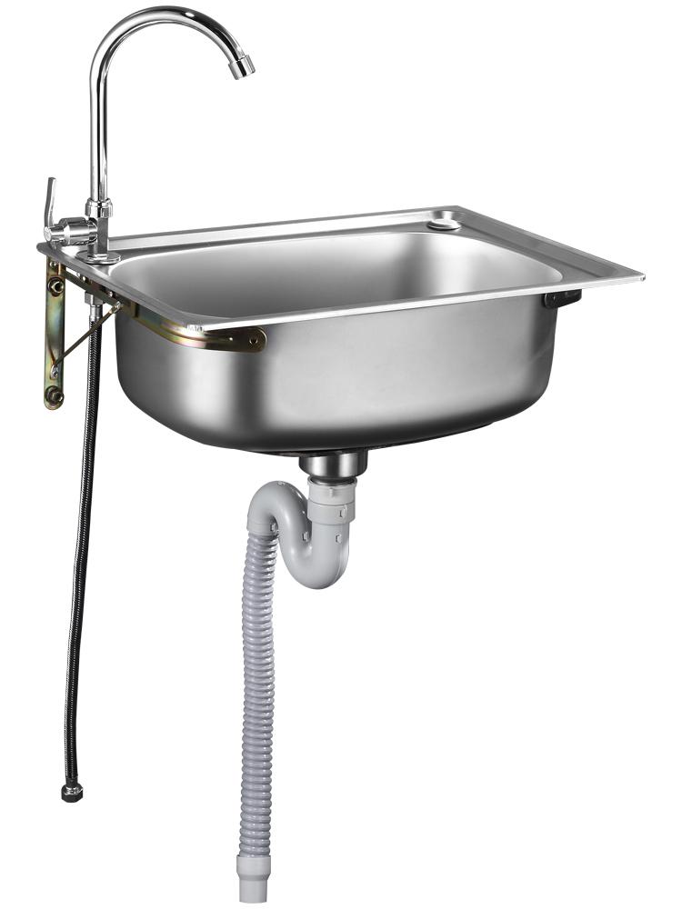 不锈钢挂墙小厨房简易洗碗池洗菜盆评价好不好?