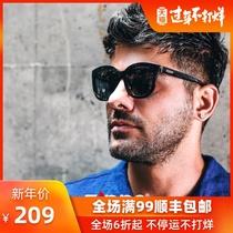 美国zippo芝宝轻便男女黑框太阳眼镜Z11021经典复古大方框墨镜