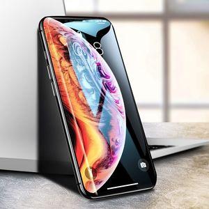 iPhoneX钢化膜XR苹果x手机11pro全屏11promax覆盖Xs蓝光XsMax护眼iphoneXR全包边ix全包iponeX刚化ipx防摔ip