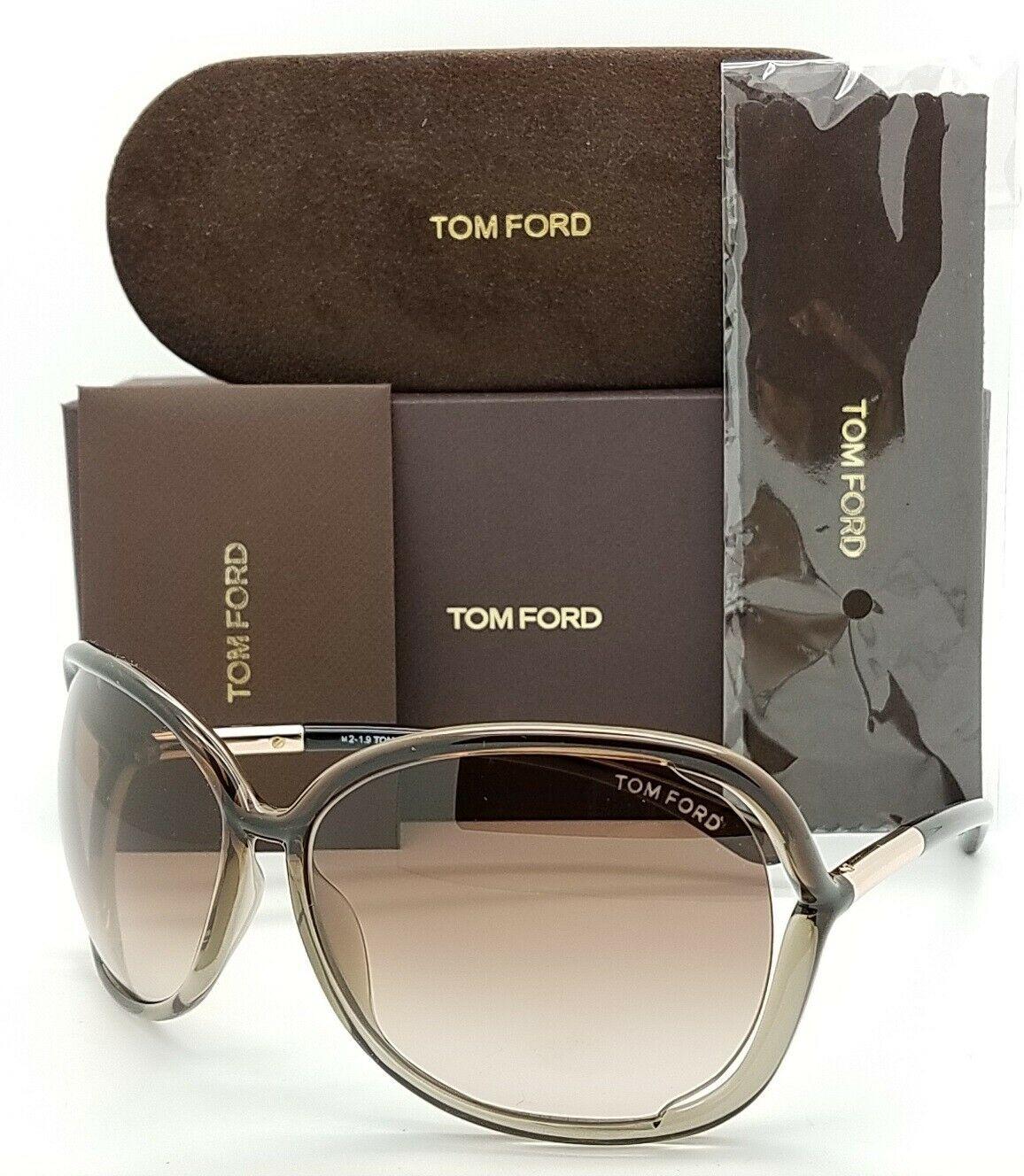 Tom Ford汤姆福特透明棕色渐变太阳眼镜FT0076/S 38F 0076