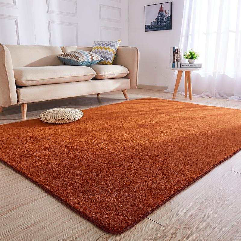 定做超柔绒地毯客厅茶几毯卧室满铺可爱房间床边毯可水洗防滑地垫,可领取5元天猫优惠券