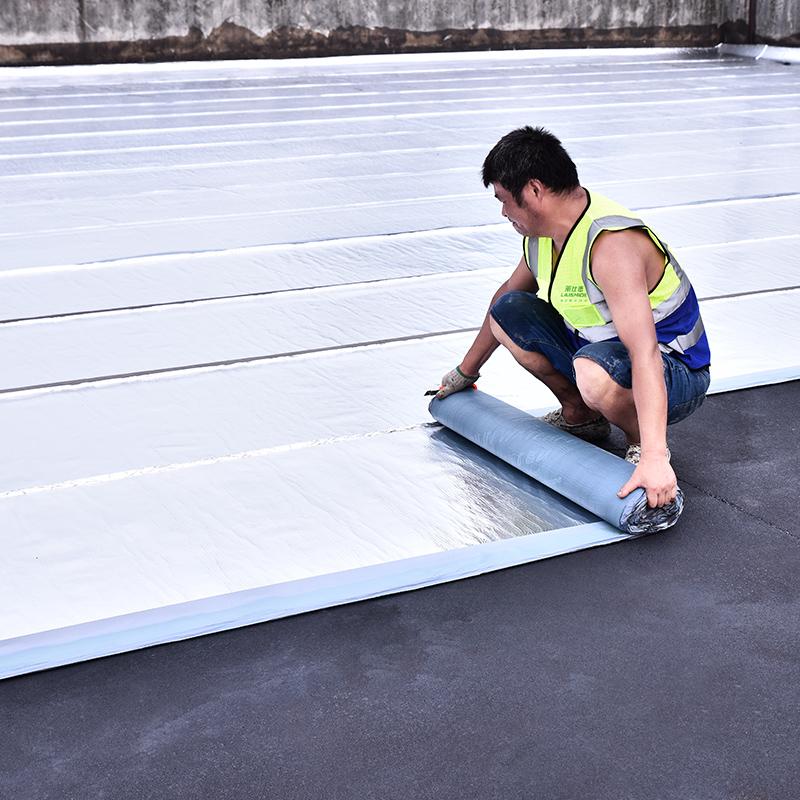 楼顶屋顶防水补漏材料SBS沥青自粘防水隔热卷材强力止漏胶带贴