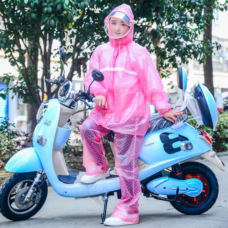 雨衣雨裤套装男女成人全身防水加厚电动车骑行防暴雨户外透明雨衣11-28新券
