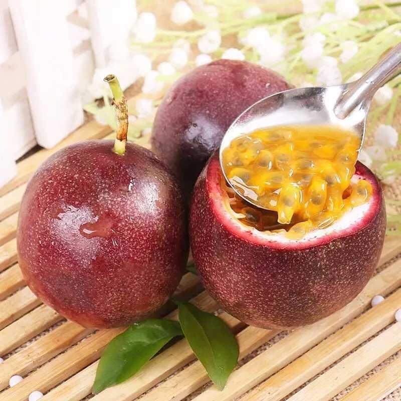 广西新鲜百香果  新鲜水果 现摘现发  产地直供  带箱5斤11-28新券