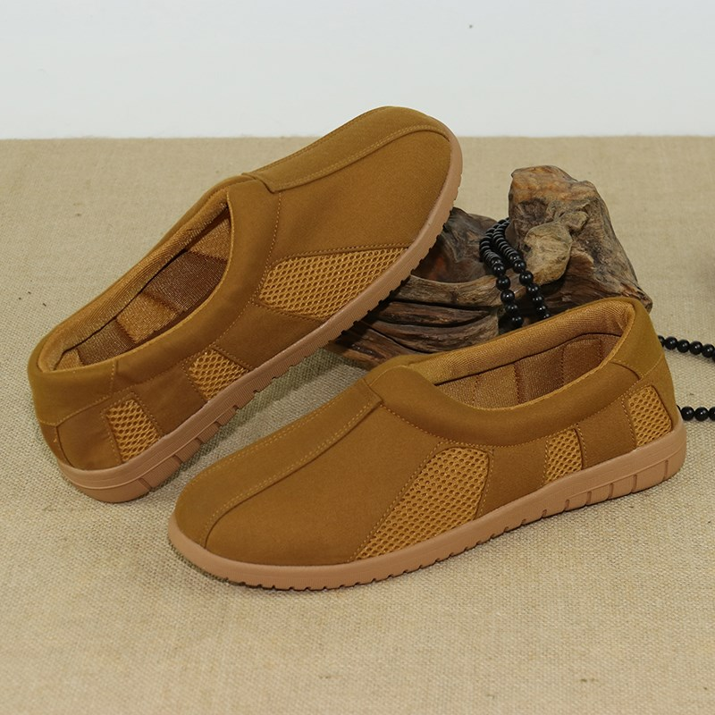 Mens and womens net face monks shoes monks breathable arhats shoes summers shoes Zens shoes monks shoes bhikkhus shoes